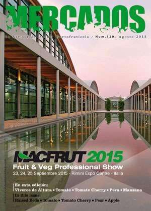 MACFRUT 2015- Fruit & Veg Professional Show- 23, 24 y 25 Septiembre en Rimini -Italia