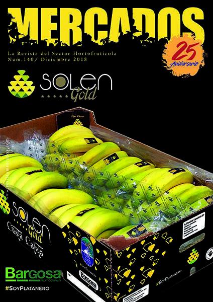Bargosa incluye al Plátano de Canarias IGP en su marca premium Solen Gold